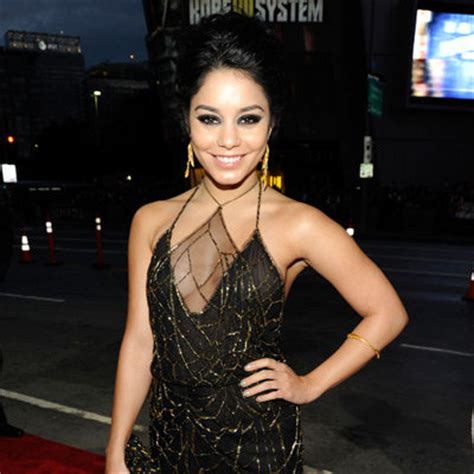 vanessa b from australia vanessa hudgens sexy black and gold gown pictures at 2012