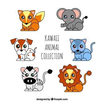 imagenes de animalitos kawaii kawaii fotos y vectores gratis