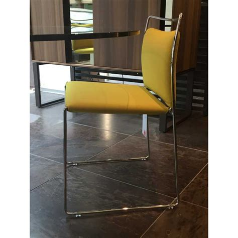 cassina sedia cassina tulu yellow chair outlet desout