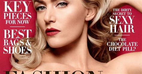 Kate Turns For Us Harpers Bazaar by Kate Winslet Covers S Bazaar Says She S Excited To