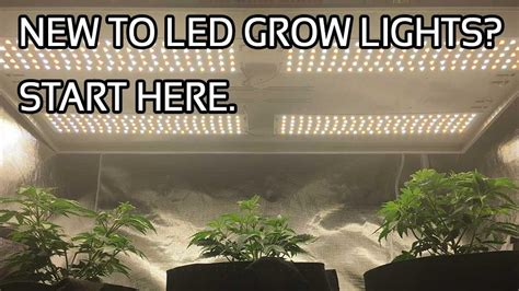 led grow light instructions new to led grow lights start here learn the world led