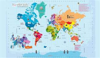 Interactive World Maps by Interactive World Map With Countries Pictures To Pin On