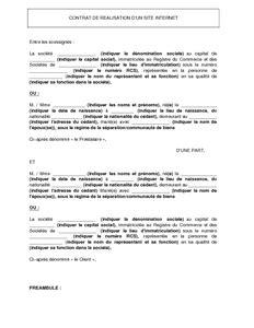 Pret Pour Personne En Cdd 3348 by Mod 232 Le De Contrat De R 233 Alisation D Un Site