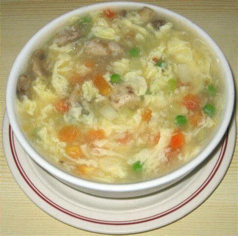 tomato soup with egg flower khana pena