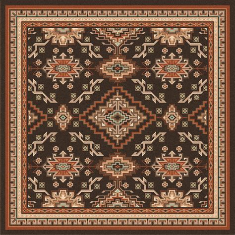 Lodge Rugs by Teton Lodge Rug 8 Ft Square
