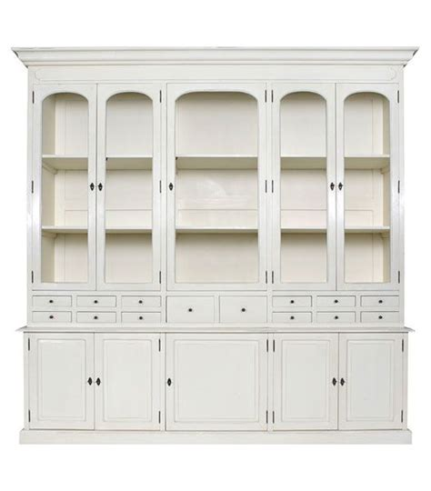 Antique White Buffet And Hutch Amelia French Country Buffet Amp Hutch Display Cabinet