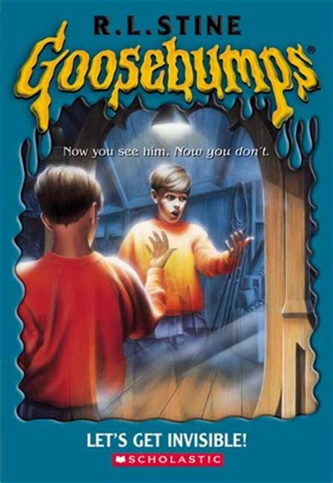 let s rock books let s get invisible goosebumps 6 by r l stine