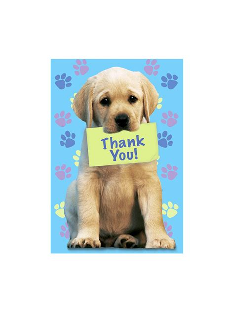 you puppy puppy thank you notes take picture of pickles holding sign puppy