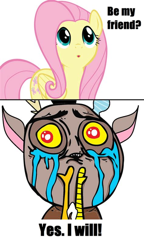 cute discord fluttershy  rage face safe