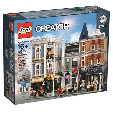 building creator the 4 002 lego 10255 assembly square is a 10 year celebration of modular buildings
