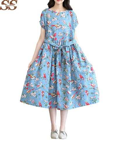 Cotton Patio Dresses Online Buy Wholesale White Cotton Dress From China White