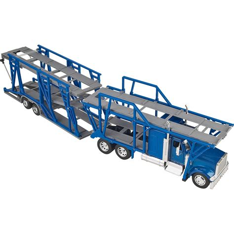 car carrier truck product new ray die cast truck replica international