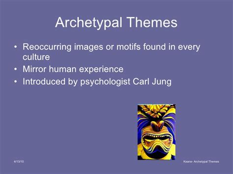 archetypal themes list archetypal themes