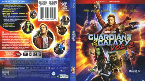 Dvd Guardians Of Galaxy Vol 1 guardians of the galaxy vol 2 2017 r1 cover