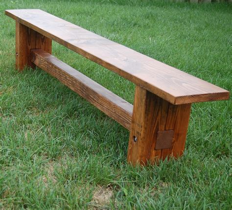 a bench dad built this farmhouse bench