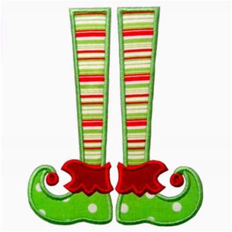 printable elf legs see it all elf legs applique