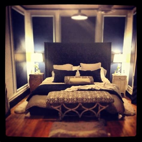 blue and tan bedroom master bedroom with a city view navy blue white and tan