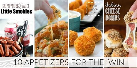 10 super bowl appetizer recipes to win halftime 10 game day appetizers that will score a win