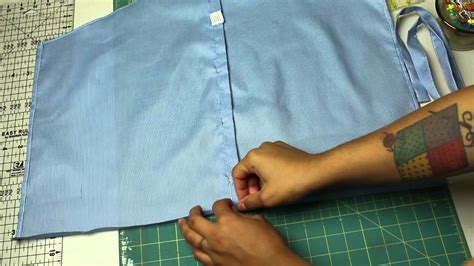 pattern for apron made from dress shirt how to make a half apron from a men s shirt a giveaway