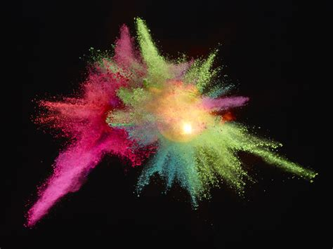 colorful powder wallpaper explosive cloud photography update powder by marcel christ