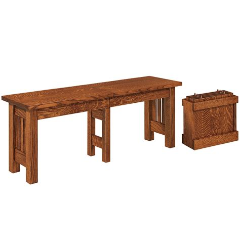 van work bench van ness amish bench amish dining room set cabinfield