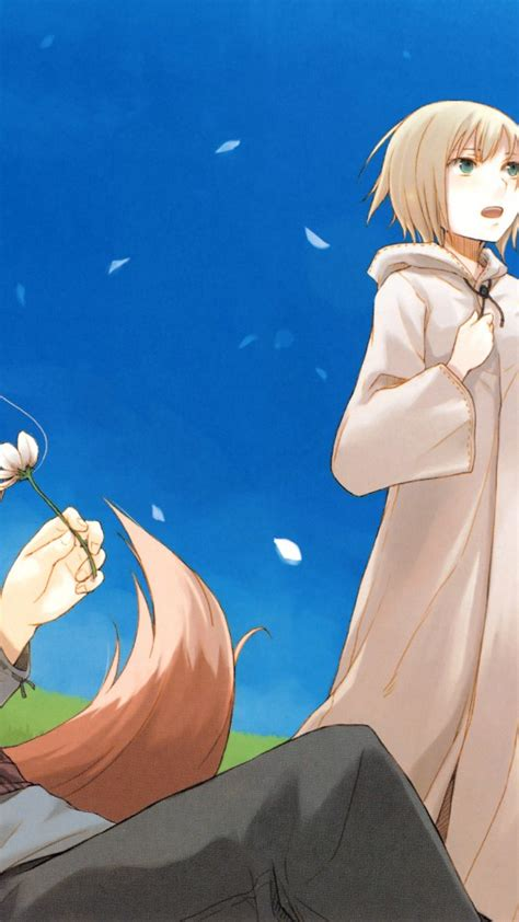 wallpaper anime 540 x 960 spice and wolf anime wallpaper 401 540x960 wallpaper