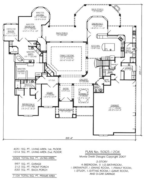 5 bedroom 3 1 2 bath floor plans nice slab home plans 9 level 1 1 2 bedroom house plans