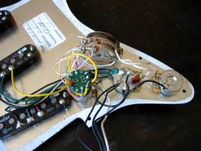 fender deluxe stratocaster pickguard wiring diagram axeblaster