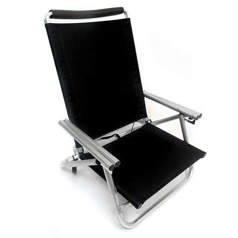 Low Boy 3 Position Reclining Aluminum Beach Chair