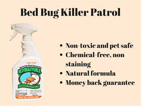 bed bug patrol top 7 bed bug sprays fast blood sucking insect killers