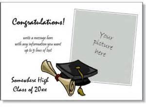 graduation bookmark templates add a photo to print invitations ideas
