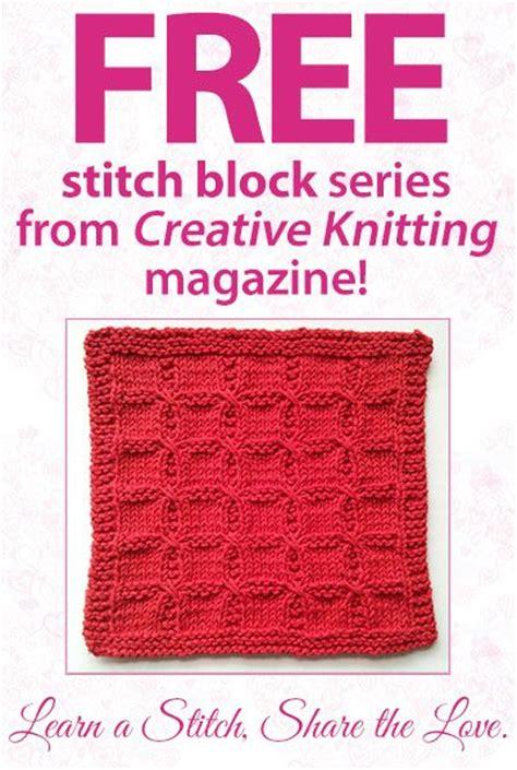 creative knitting magazine creative knitting magazine s learn a stitch the