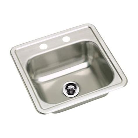 Neptune Sink elkay neptune top mount stainless steel 15 in 2