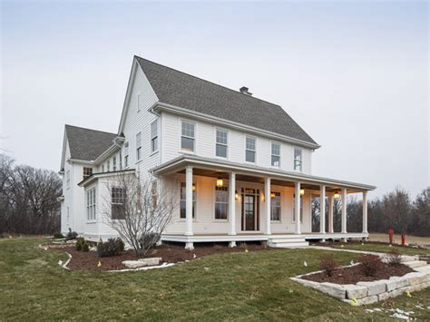 two story farmhouse modern farmhouse plans farmhouse open floor plan original