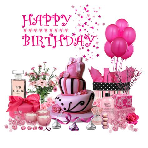 Philosophy Bath And Shower Gel pretty in pink birthday polyvore