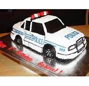 Police Car Cake  Cakes For Weddings Birthdays And Special Occasions