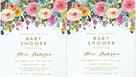 Wedding Shower Banner Template by 8 Floral Invitation Banners Designs Templates Free