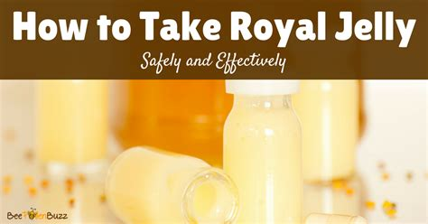 How to Take Royal Jelly Royal Jelly Benefits