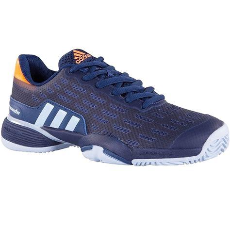 adidas barricade 2017 adidas barricade 2017 xj junior tennis shoe blue orange