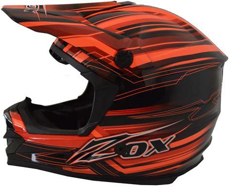 youth xs motocross helmet zox mx2 road mx dirt bike helmet fiction dot xs