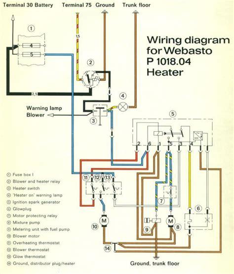 webasto air top 2000 st wiring diagram webasto heater
