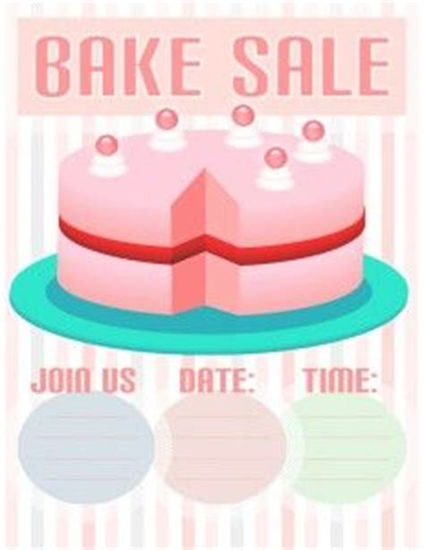 templates for bake sale flyers 1000 images about free templates on pinterest