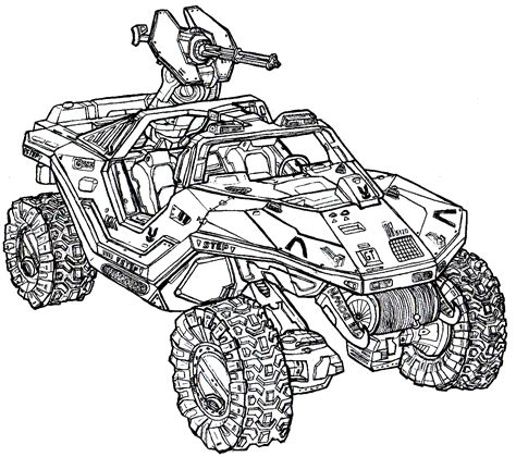 halo warthog drawing m12 application vehicle warthog by dandelo1 on