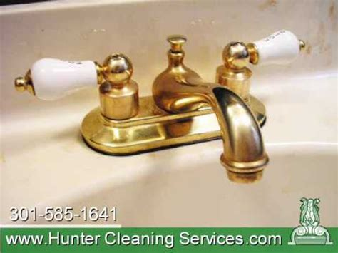 How To Clean Brass Faucets by Hcs Intensive Cleaning Brass Faucet Youtube