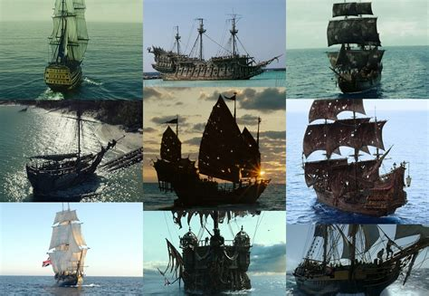 schip pirates of the caribbean pirates of the caribbean ships picture click quiz by