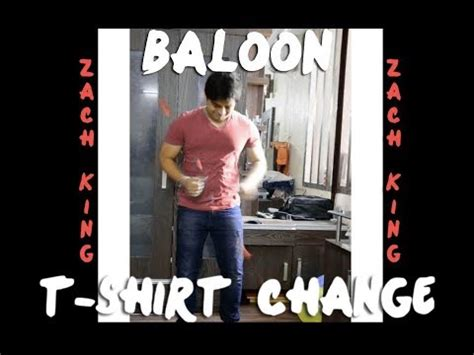 tutorial after effect zach king balloon tshirt change after effects zach king youtube