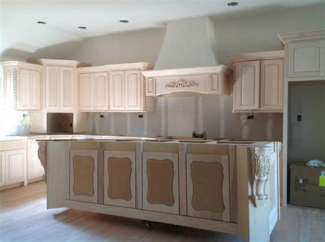 When To Paint And When To Stain Crown And Base Molding How To Paint Stained Kitchen Cabinets White