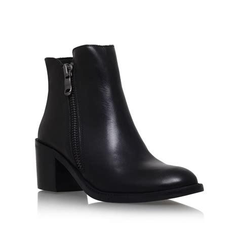 carvela boots for carvela kurt geiger black skim high heel ankle boots lyst