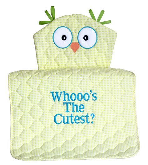 Owl Baby Shower Gifts by Unique Baby Gifts Owl Changing Pads