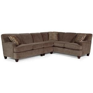 flexsteel bryant sectional flexsteel bryant contemporary 3 pc sectional sofa with